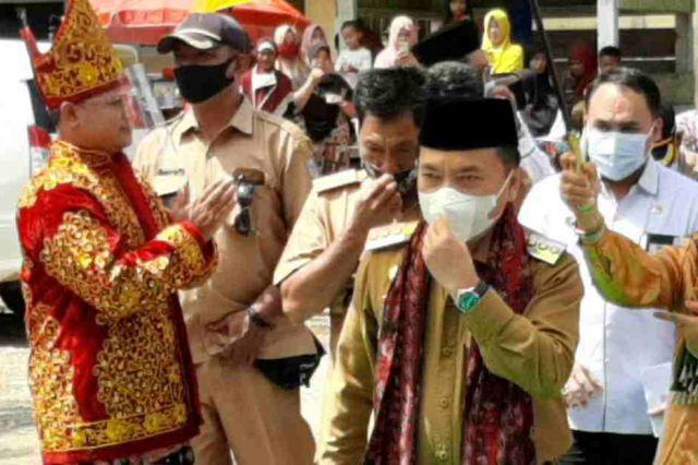 Al Haris akan Berlakukan Hukum Adat Bagi Pelanggar Protokol Kesehatan Covid-19
