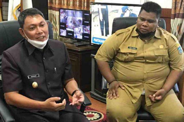 Bertemu Wabup Sikapi Party Siswa SMAN 1 Tanjab Barat, Agus Sumantri: Stop Bullying