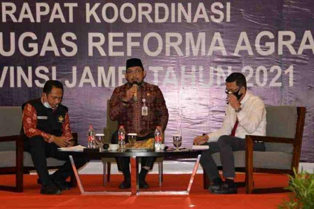 Sudriman Tegaskan Komitmen Pemerintah Dalam Penyelesaian Konflik Pertanahan