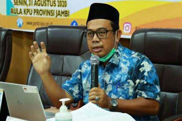 Jaga Marwah Lembaga, Sanusi Mundur dari Komisioner KPU Provinsi Jambi