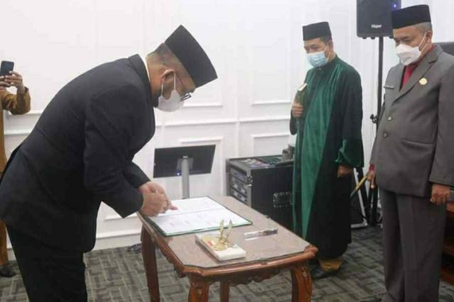Sekda Lantik Pejabat Fungsional Lingkup Pemrov Jambi