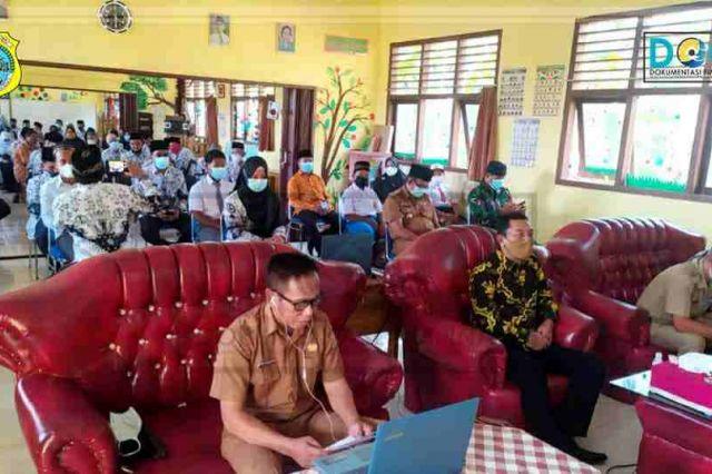 Sekda Tanjab Timur Ikuti Peluncuran Sekolah Merdeka Belajar