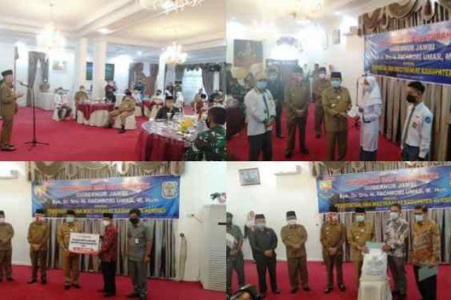 Pemkab Kerinci Sambut Kunker dan Silaturahmi Gubernur Jambi