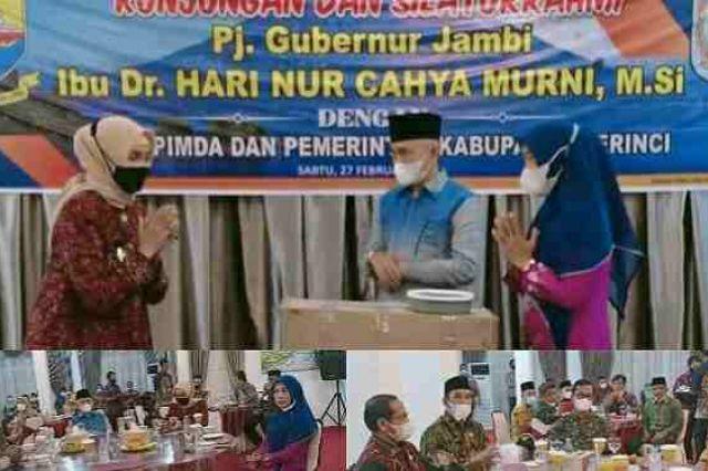 Pemkab Kerinci Sambut Kunjungan dan Silaturahmi Pj Gubernur Jambi