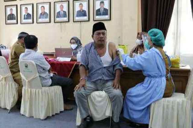 DPRD Muaro Jambi sudah Lakukan Vaksin Tahap II