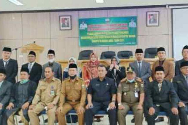 12 Pejabat Sekretariat DPRD Muaro Jambi di Rotasi