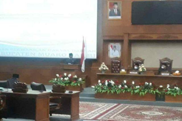DPRD Muaro Jambi Gelar Paripurna Penyampaian Rekomendasi Fraksi Atas LKPJ Bupati