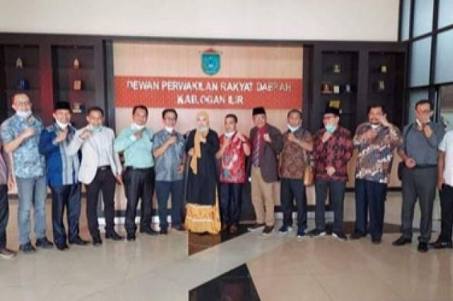 DPRD Muaro Jambi Kunjungan Kerja ke Ogan Ilir