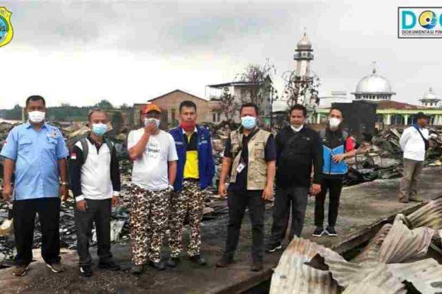 Tim Kemensos RI Sambangi Korban Kebakaran di Menteng