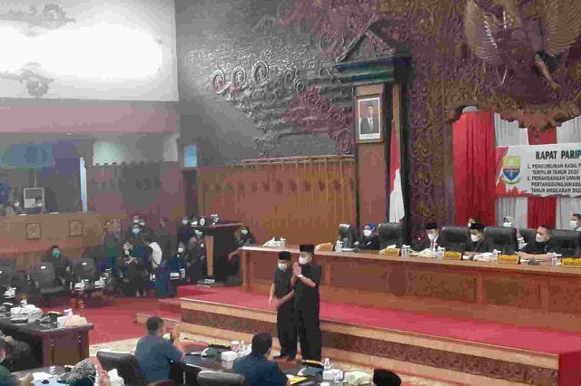 DPRD Provinsi Jambi Gelar Penetapan Al Haris-Sani Sebagai Gubernur dan Wagub Jambi Terpilih