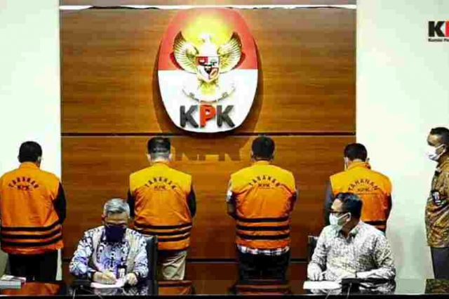 KPK Tahan Empat Mantan Anggota DPRD Provinsi Jambi