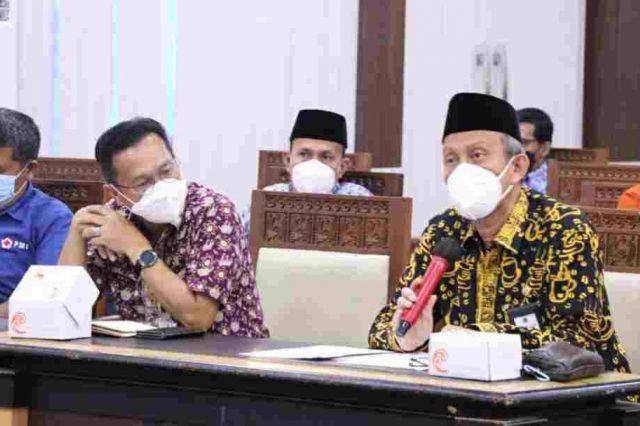 Sekda Tanjab Barat Ikuti Rapat Evaluasi Penanganan Covid-19 se-Provinsi Jambi