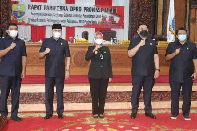 Pj Gubernur: Kritik dan Saran DPRD sebagai Evaluasi Perbaikan Kinerja Pemprov Jambi