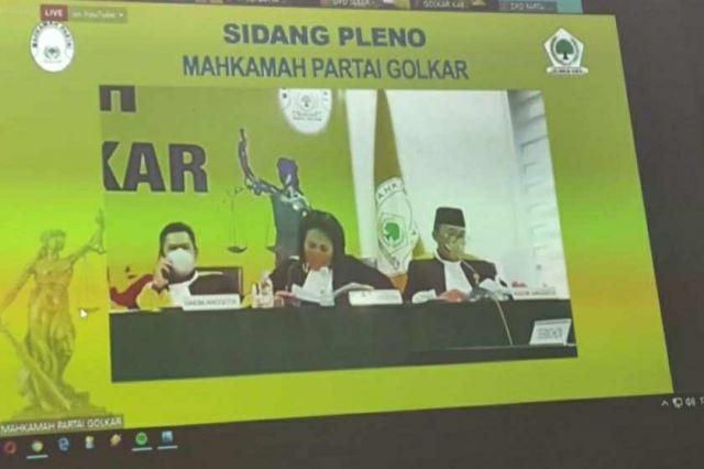 DPP Mahkamah Patai Tetapkan Budi Setiawan Sebagai Ketua Golkar Kota Jambi
