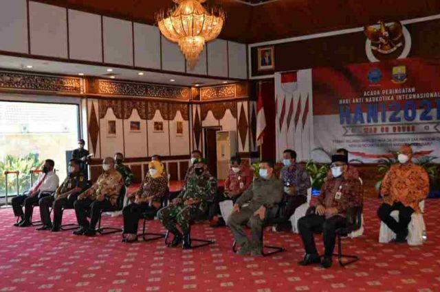 Pj Gubernur Nyatakan Komitmen Perangi Narkoba di Provinsi Jambi
