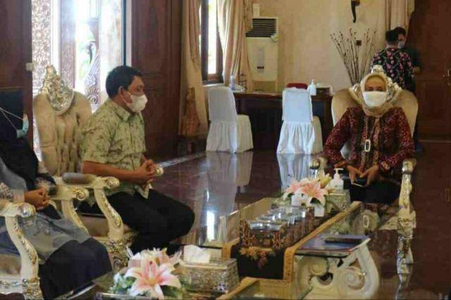 Persiapan Pelaksanaan MTQ ke-50, Wabup Hairan Koordinasi dengan Pj Gubernur Jambi