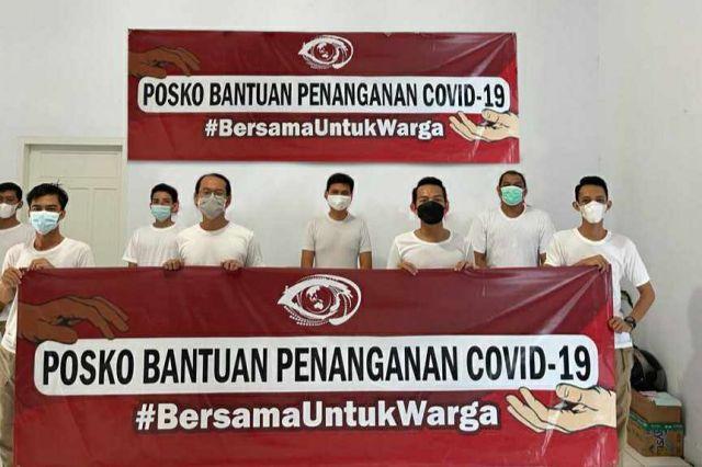 #BersamaUntukWarga,  Gerakan Solidaritas Sosial Saling Bantu Hadapi Pandemi Covid-19 di Jambi