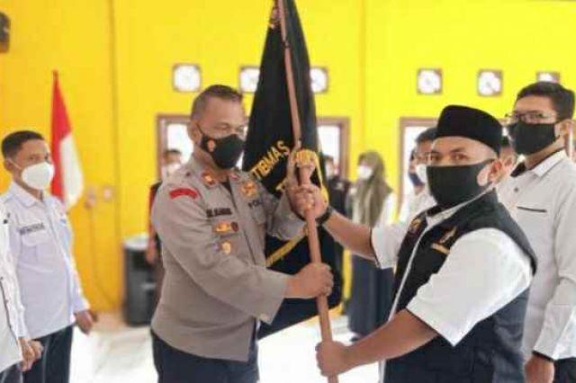 Dilantik Pimpin Pokdar Kamtibmas Bhayangkara Rimbo Ulu, Johan: Kami Siap Bersinergi dengan Kepolisian Tebo