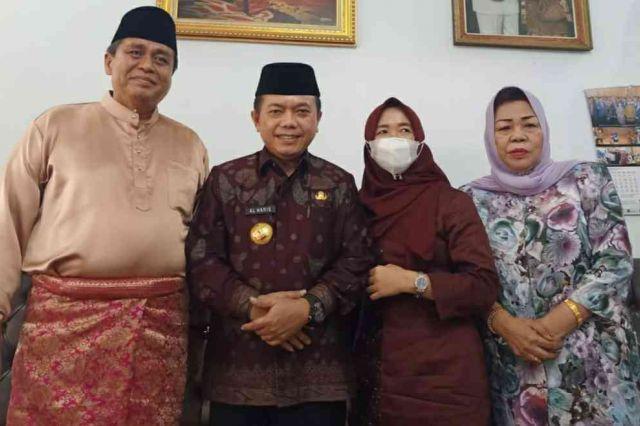 Usai Dilantik, Gubernur Jambi Al Haris Langsung Mengunjungi Hasan Basri Agus