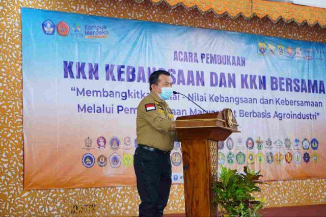 Gubernur Al Haris Harap Peserta KKN Kebangsaan Unja  Berikan Sumbangsih Atasi Covid-19 di Desa