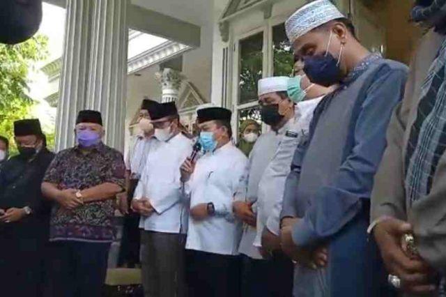 Penghormatan Terakhir Almarhum Hasip Syam, HBA: Beliau Tokoh yang Selalu Memikirkan Jambi