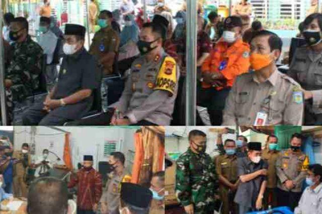 Wako AJB Ikuti Launching Gerakan Serempak Pekan Vaksinasi Covid-19 Se Provinsi Jambi