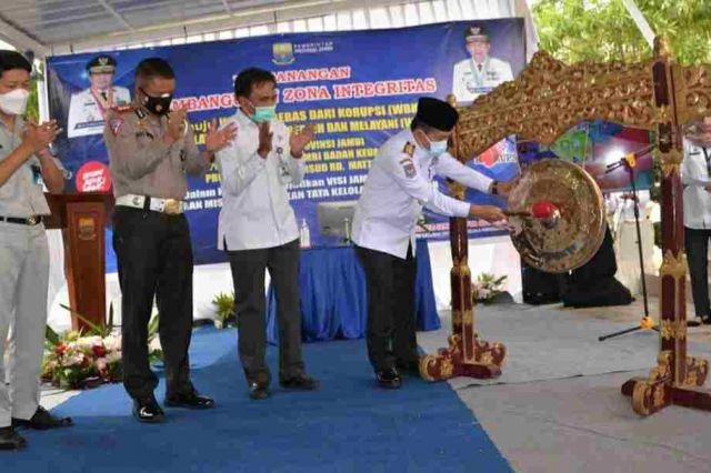 Gubernur Al Haris: Zona Integritas Samsat dan RSUD Raden Mattaher Bentuk Komitmen Tata Kelola Pemerintah Bersih