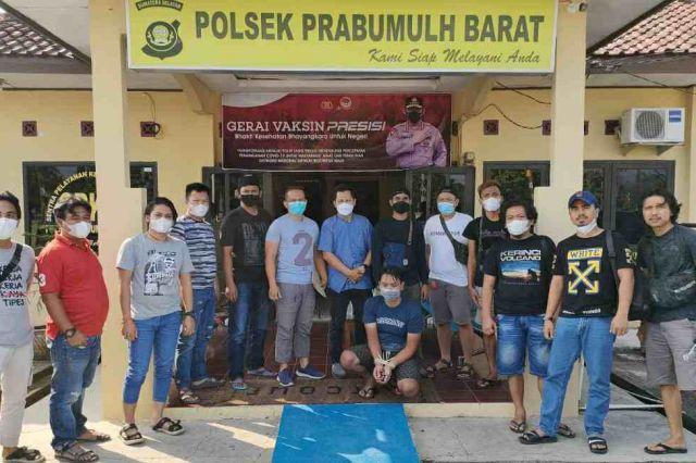 Polres Merangin Amankan Pelaku Pembunuhan Plt Kepala BPBD Merangin