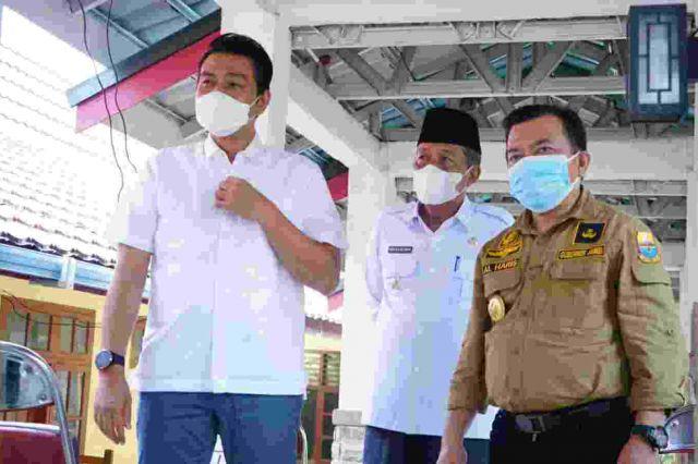 PPKM Level 4 Batanghari, Gubernur Al Haris: Segera  Kirim Alat PCR untuk Menekan Penyebarannya