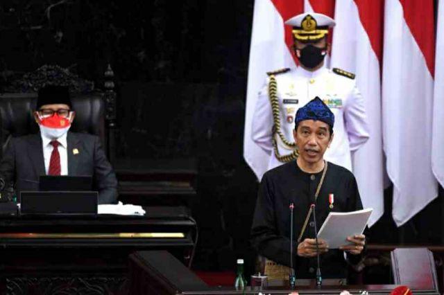 Pemerintah Anggarkan Rp2.708,7 Triliun dalam RAPBN 2022
