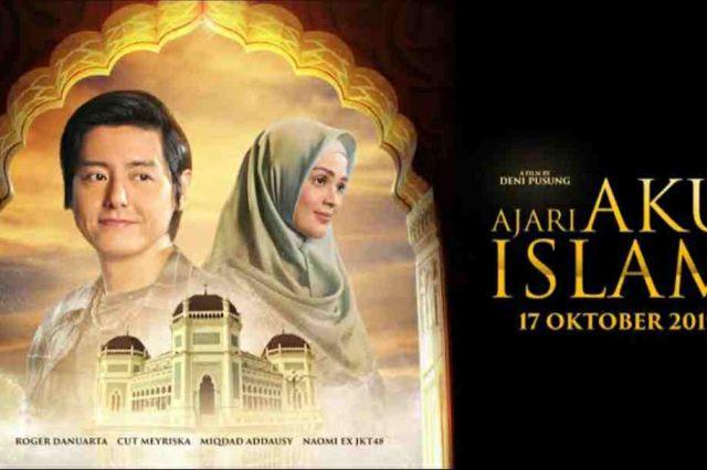 Nonton Film Ajari Aku Islam, Kisah Cinta Roger dan Cut Meyriska