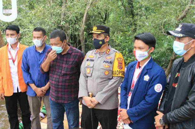 Bupati Romi Apresiasi Program Ekowista Mangrove Desa Kuala Lagan dari Posko XXII KKN Kebangasaan