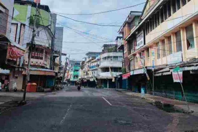 Pengetatan PPKM Hari Pertama, Suasana Kota Mati di Pasar Kota Jambi