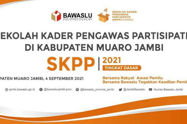 Minggu Depan, Bawaslu Mulai Menggelar SKPP Tingkat Dasar di Provinsi Jambi