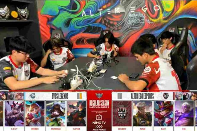 Tundukkan EVOS Legends, Alter Ego Kokoh Dipuncak Klasmen MPL ID Season 8