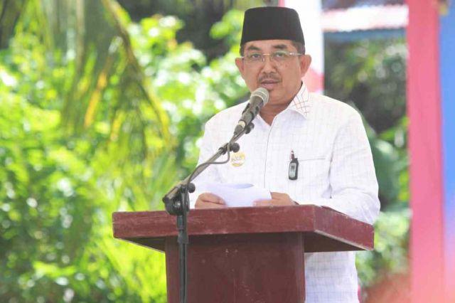 Bupati Anwar Sadat Resmikan Pos Pemadam Kebakaran di Mekar Jaya