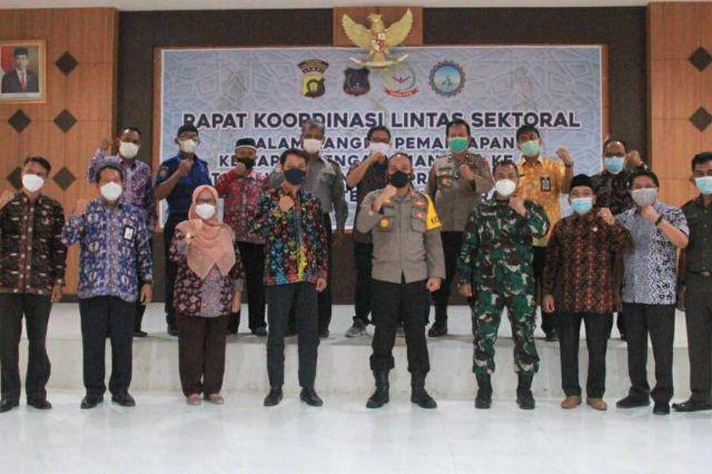 Pemkab Tanjab Barat Laksanakan Rakor Lintas Sektoral Kesiapan Pengamanan MTQ ke-50 Provinsi Jambi