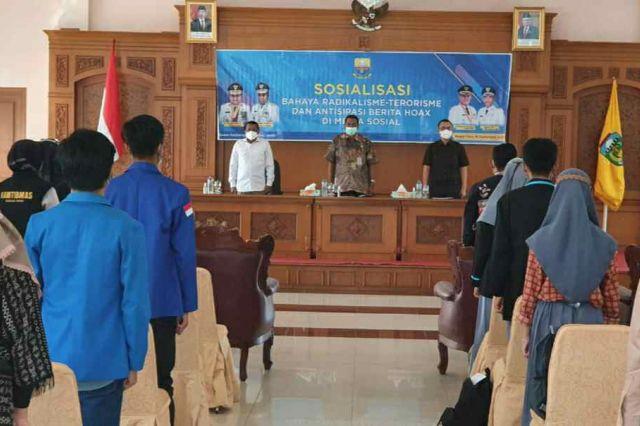 Kesbangpol Jambi Sosialisasi Bahaya Radikalisme dan Terorisme ke Pelajar di Tebo