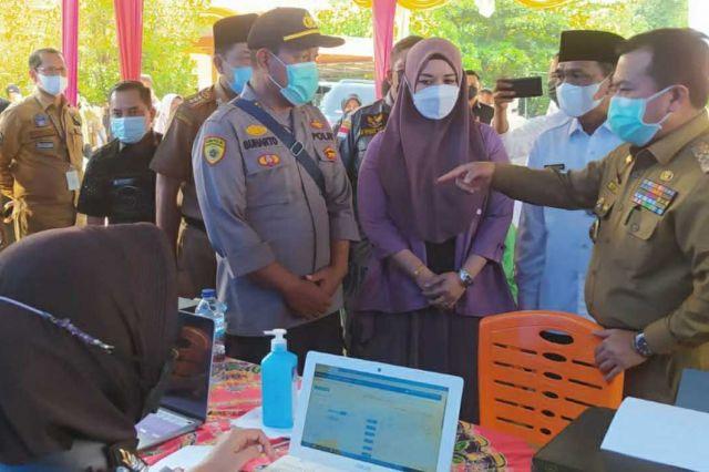 Pj Sekda Dampingi Kunjungan Kerja Gubernur Al Haris di Merangin