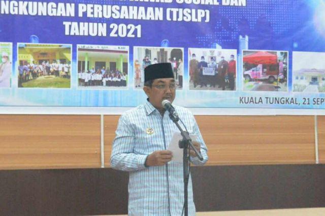 Bupati Anwar Sadat Berharap Perusahaan dapat Meningkatkan Kualitas dan Kuantitas Program TJSLP