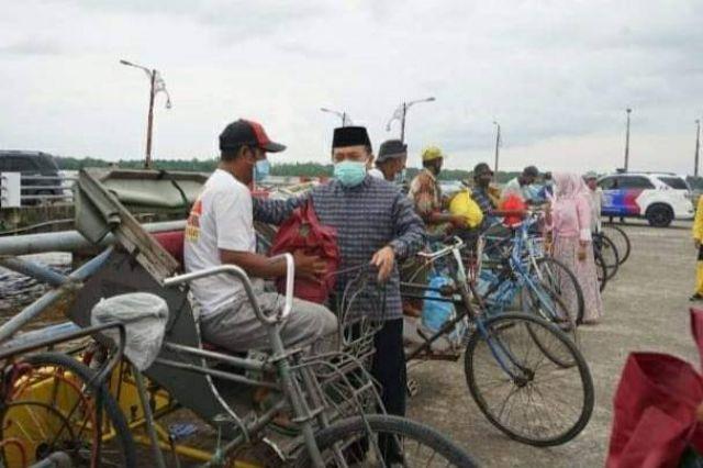 Usai Buka MTQ ke-50, Gubernur Al Haris Jalin Silaturahmi dengan Warga Kuala Tungkal