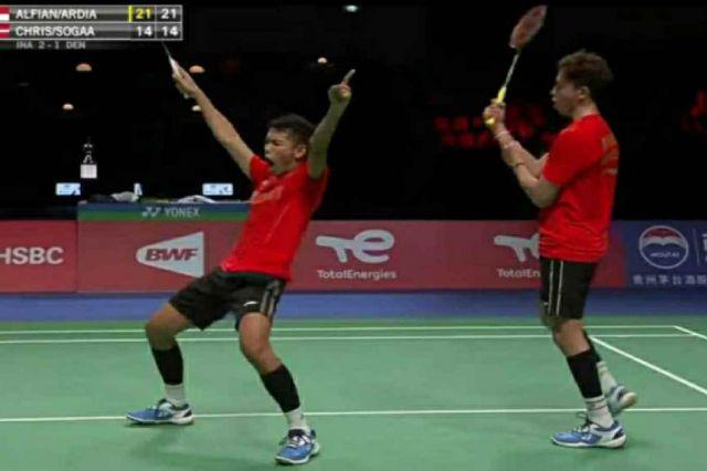 Kalahkan Tuan Rumah, Indonesia ke Final Thomas Cup 2020