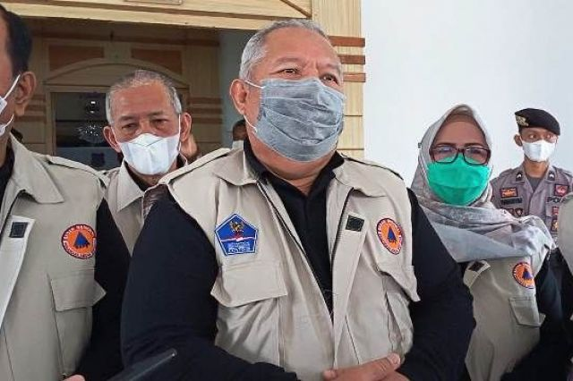 Pelaksanaan Vaksinasi Covid 19 di Tanjab Barat, Ini Pesan Safrial