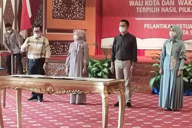 Besok, Ahmadi-Alvia Dilantik Jadi Walikota dan Wakil Walikota Sungai Penuh