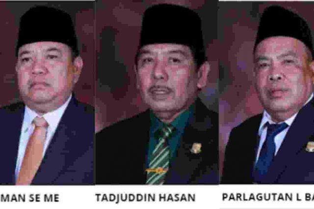 KPK Jadwal Pemeriksaan Cekman, Tajuddin Hasan dan Parlagutan Besok