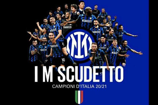 Inter Milan Resmi Juara Liga Italia Musim 2020/21