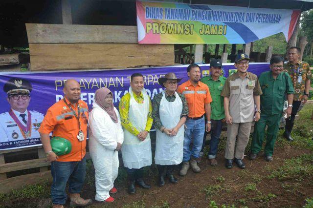 Upayakan Swasembada Daging, Fachrori Siap Sukseskan Program Sikomandan