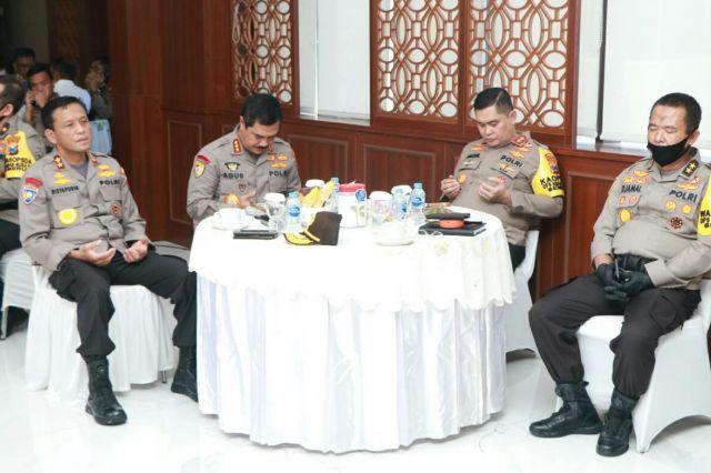 Kabaharkam Polri Lakukan Supervisi dan Asistensi Operasi Aman Nusa II di Polda Jatim