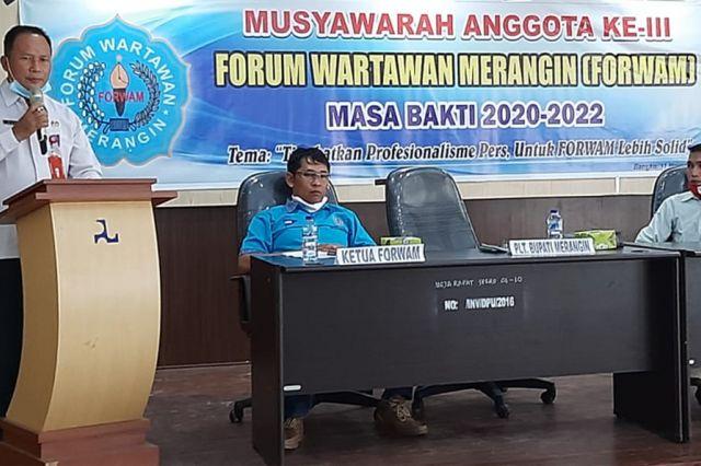 Musyawarah Forwam ke-3, A Gani: Wartawan Harus Kuasai Kode Etik