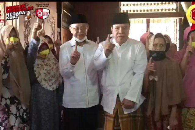 Bersama Mantan Rektor Unja, Cek Endra Silaturahmi dengan Warga Tanjung Pasir